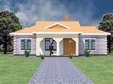 Simple house design in Kenya 4 bedrooms HPD Consult