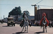 Old Days Parade Los Alamos, CA The Focal Point Postcard