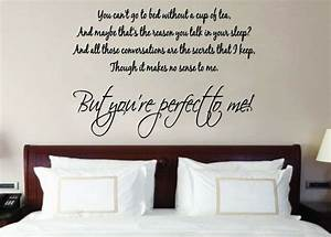 One direction perfect to me song lyrics music wall art