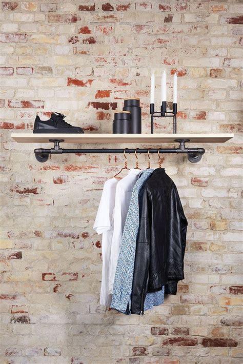 Kleiderstange Mit Regal by Marlow An Der Wand Befestigte Kleiderstange Mit Regal In