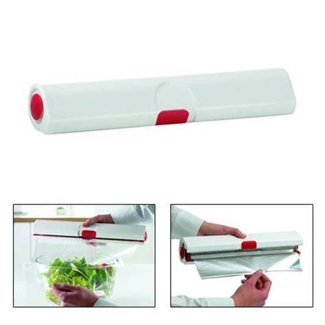 derouleur papier cuisine coupe étirable et papier aluminium la fabrique à