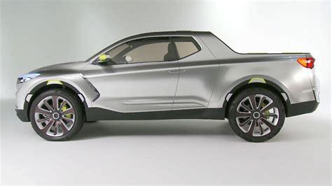 Hyundai Santa Cruz Crossover Truck Shows Up At Detroit