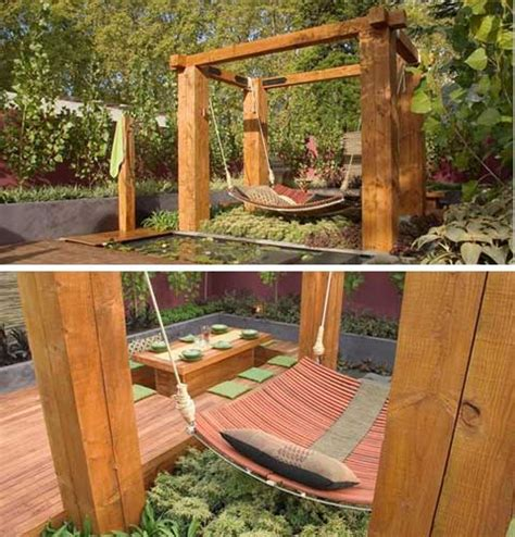 hanging garden bed modern backyard makeover jamie durie garden patio