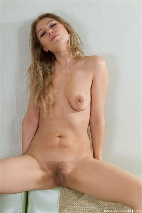 Lady blonde in red takes off clothes to tak - XXX Dessert - Picture 14