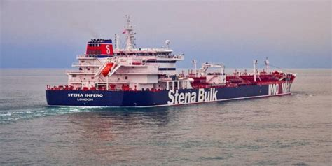 Growing concern for crew of British-flagged tanker ...