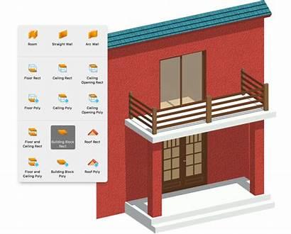 Pro 3d Balcony Tool Interior Floor Plans