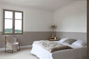 chambre deco idee deco chambre adulte couleur taupe With idee pour chambre adulte