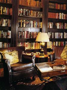 The Steampunk Home: Brown and Gold Library