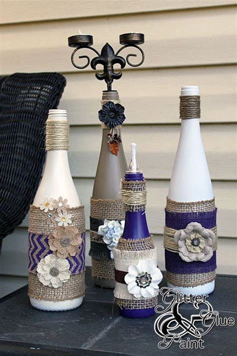 decorative wine bottles diy 17 fascinatingly beautiful diy wine bottle crafts to