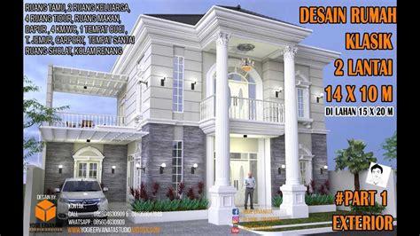 desain rumah klasik  lantai xm  kamar tidur part