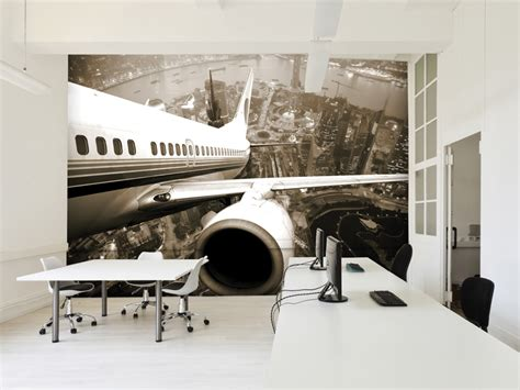 striking large scale wall murals adding  dimensions