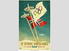 Olympic > Shop > Oslo 1952 Games Poster