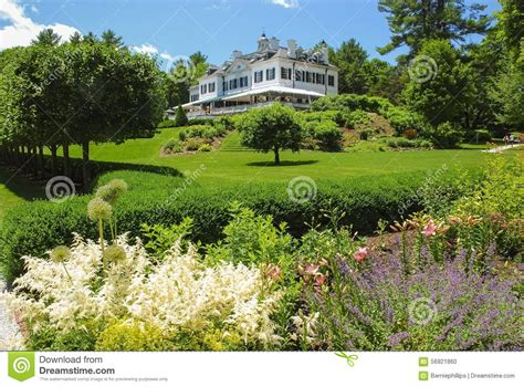 edith wharton the mount gardens editorial image image