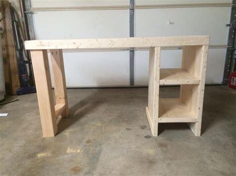 easy home office desk buildsomethingcom