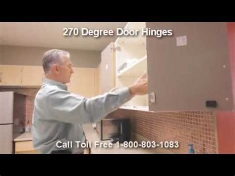 Full Opening Cabinet Door Hinges with 270 Degree Hinged
