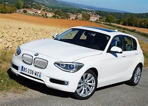 Bmw Serie 3 Blanche : essai bmw s rie 1 118i 170 ch 2012 test auto ~ Gottalentnigeria.com Avis de Voitures