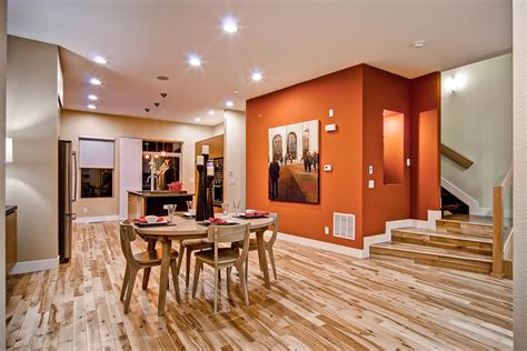 simple wall painting designs in orange colour burnt orange wall paint dining room contemporary with aqua Simple Wall Painting Designs In Orange Colour
