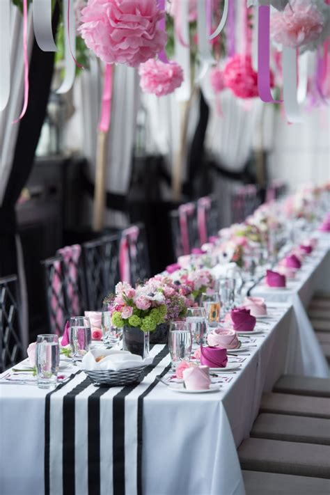 Planning and executing the bridal shower. Feminine and Floral | Bridal Shower Ideas | POPSUGAR Love ...