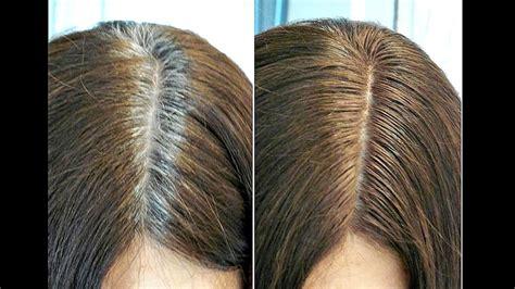 dye  hair rootsgray hair tutorial youtube