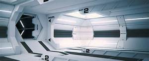 Space Station Interior Animation - YouTube