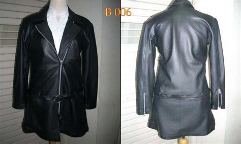 genuine jacket katalog jaket kulit  wanita