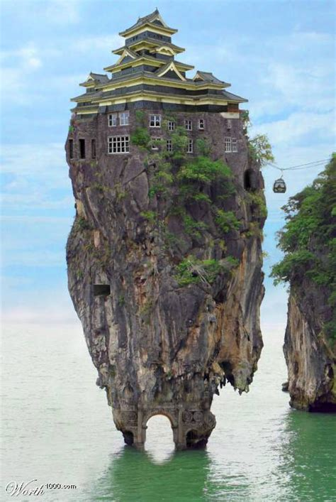 Indulgences And Whims Very Strange Homes
