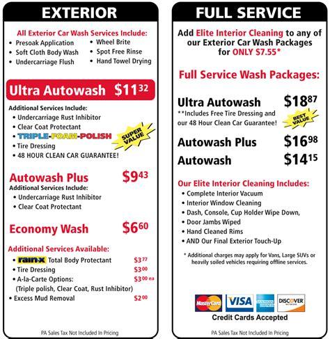 car wash service pottstown auto wash and detail center pottstown auto