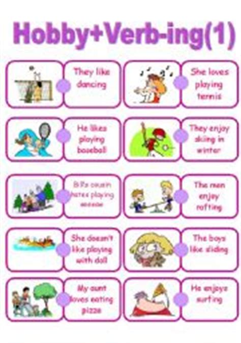 ed  ing verbs  pix  images frompo