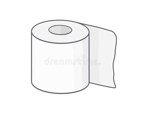 Toilet Paper Stock Vector. Illustration Of Health, Toilet