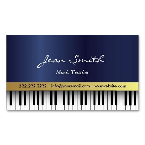 piano business card template 1000 images about business card templates on