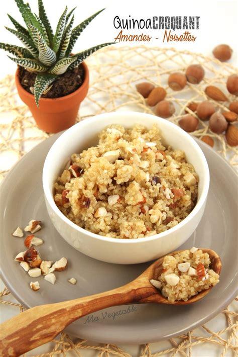 cuisiner les algues quinoa croquant amandes et noisettes 1 2 3 veggie