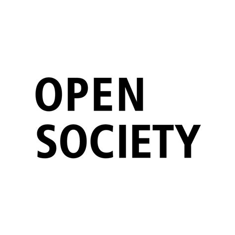 working  open society