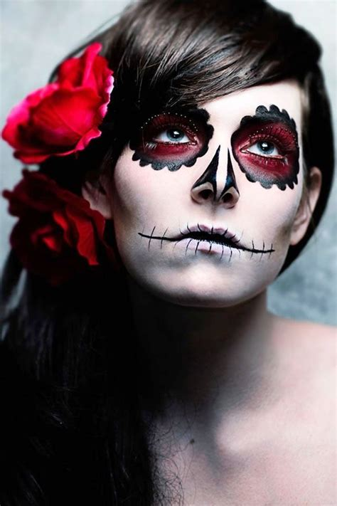 sugar skull halloween makeup ideas feed inspiration