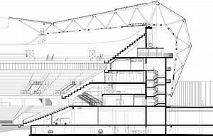 Wilmotte Et Associés : coupe transversale stade de football allianz riviera ~ Voncanada.com Idées de Décoration