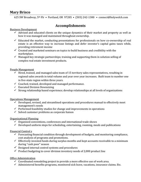 Career Focus For Resume resume format resume sles of career focus