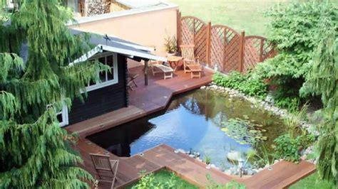 Gartenteich Mit Terrasse by Moderne Terrasse Und Balkon Garten Idee Neu Designe