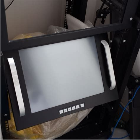 rack mount monitor 15 inch rack mount lcd monitor with touch screen rack