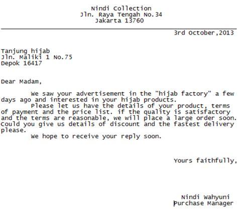 Surat Permintaan Pembelian by Dont Just Talk It Contoh Surat Permintaan Pembelian