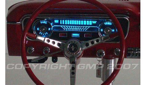 mustang dashboard red legacy motors