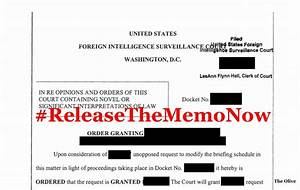 'Explosive' FISA memo will be released! | The Olive Branch ...