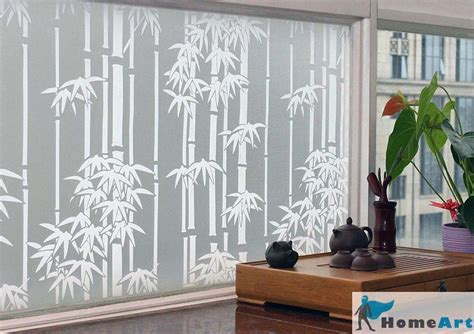 Frosted Glass Window Film Home Installation
