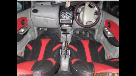 Red & Black Designers Seat