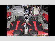 CUSTOM CAR INTERIOR WORK Red & Black Designers Seat