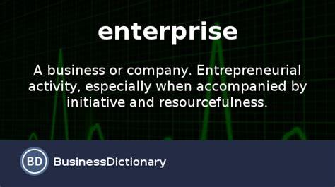 business enterprise definition epub