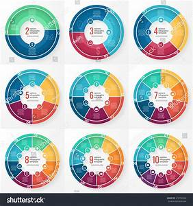 Vector Pie Chart Templates Graphs Charts Stock Vector 418790362