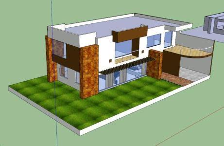 room house  levels  details  skp cad  mb