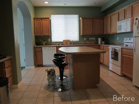kitchens with oak cabinets pictures capree s kitchen makeover part i the before 187 curbly 8797