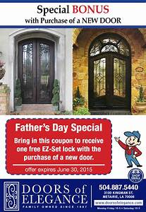 NEW! Father's Day Special Offer! | Doors of Elegance
