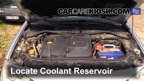 How Add Coolant Renault Megane