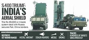 S-400 Air Defense Systems : Russia - India Sign Agreement ...
